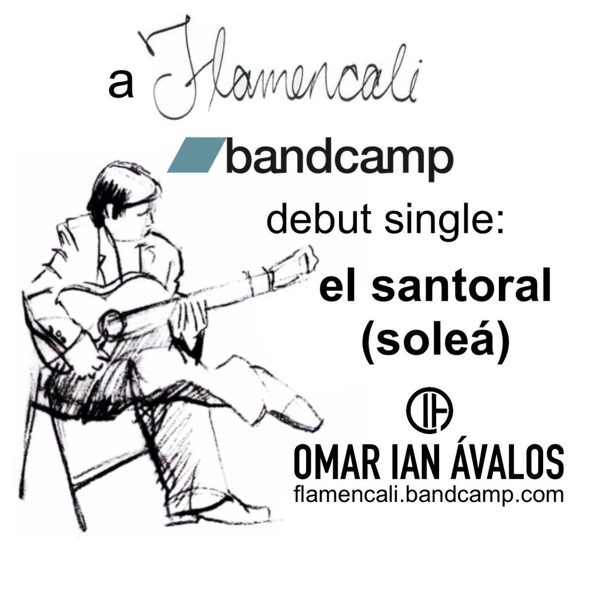 "#NowPlaying: ""El santoral,"" a soleá by flamenco guitarist Omar I. Ávalos. Own the single exclusively on #Bandcamp. https://buff.ly/36ELohl #flamencoguitar #guitarraflamenca #solea pic.twitter.com/vmKfwXJqsL"