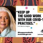 Image for the Tweet beginning: Watch Professor Marcia Langton's message