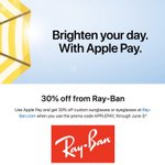 Image for the Tweet beginning: Apple Pay Promo Offers 30%