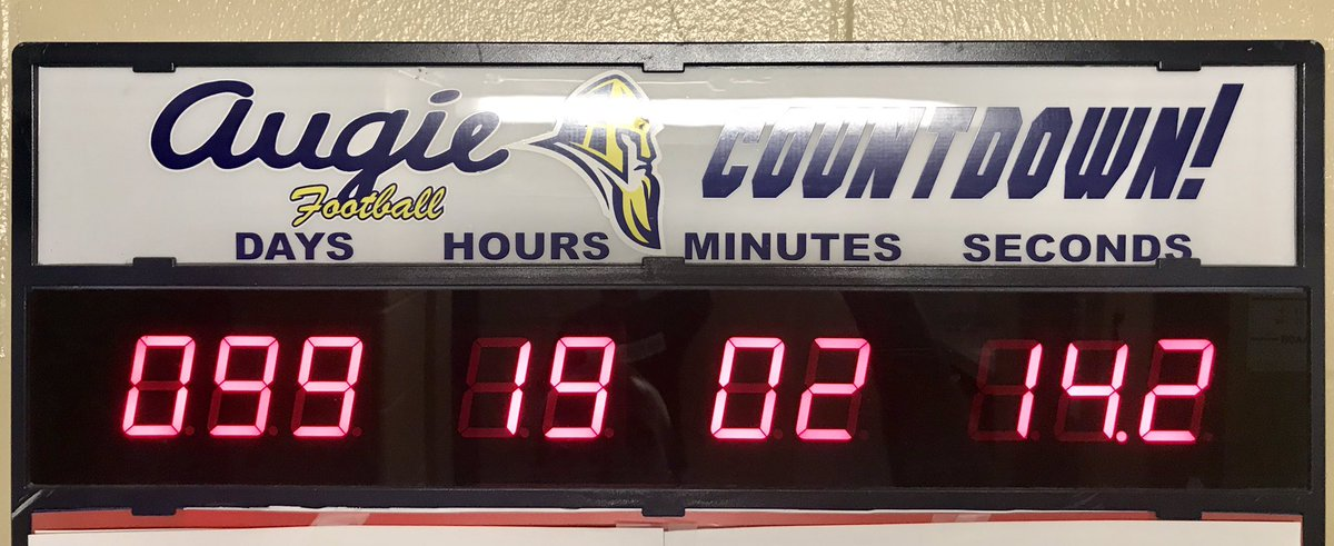 ⬇️ 💯 #theAUGIEway