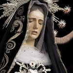 Image for the Tweet beginning: Our Lady of Sorrows, Pray for