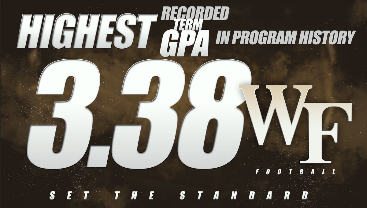 𝐒𝐞𝐭. 𝐓𝐡𝐞. 𝐒𝐭𝐚𝐧𝐝𝐚𝐫𝐝. On and off the field 📚 #GoDeacs | #WakeWill 🎩