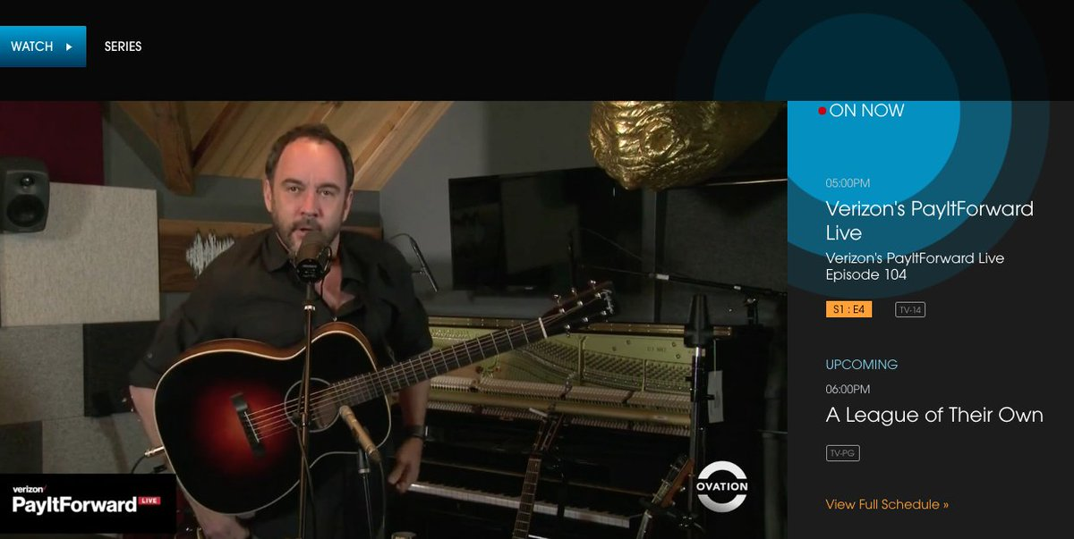 @ovationtv's photo on Dave Matthews