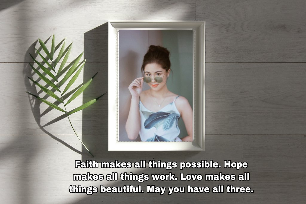 Faith makes all things possible. Hope makes all things work. Love make all things beautiful. May you have all three. Good Morning!  @KissesDelavin   #KissesDelavin | Kisses Delavin #Kissablespic.twitter.com/y0a7gyQ4aA