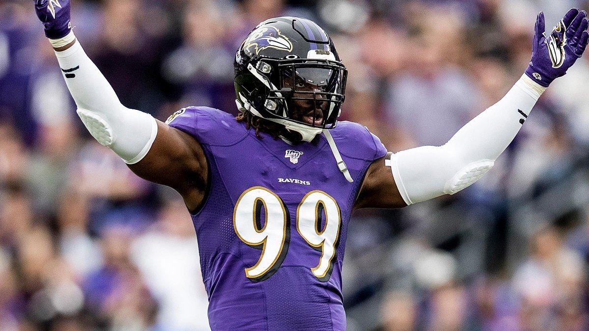 Franchise tag assinada por Matthew Judon, que fica sob contrato de um ano de duração com o Baltimore Ravens...  #NFL #Ravens #futebolamericano