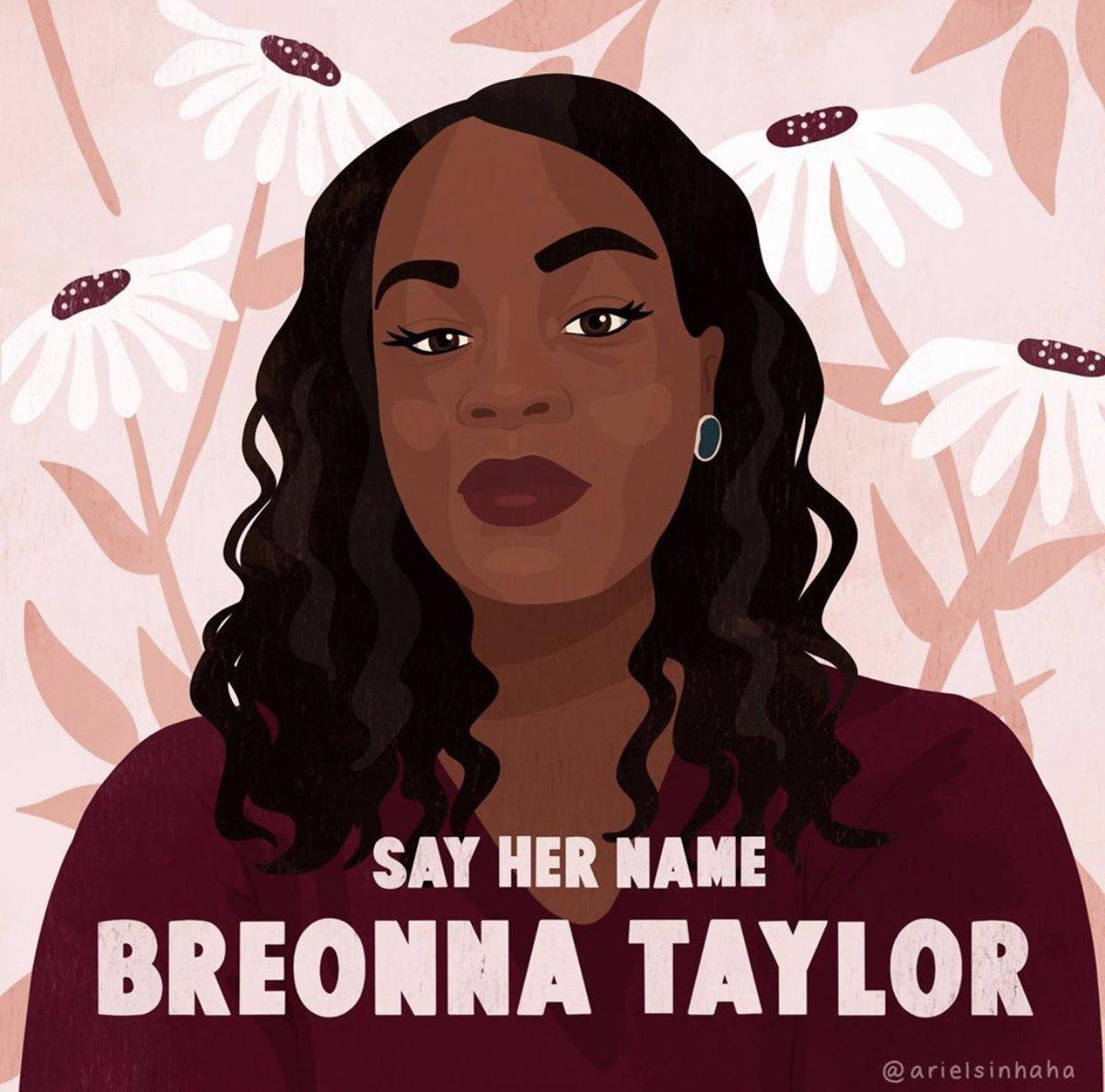 Say her name. #BreonnaTaylor