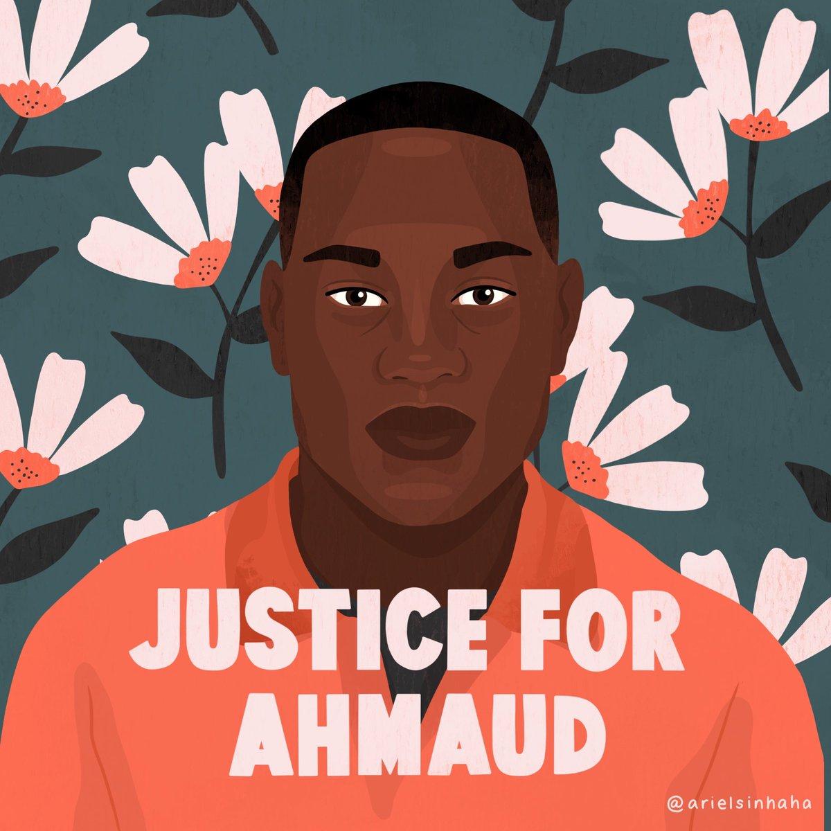 Say his name. #AhmaudArbery
