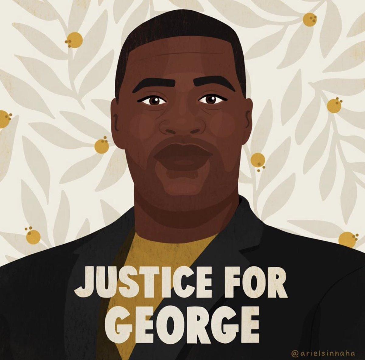 Say his name. #GeorgeFloyd Say what happened. #GeorgeFloydWasMurdered