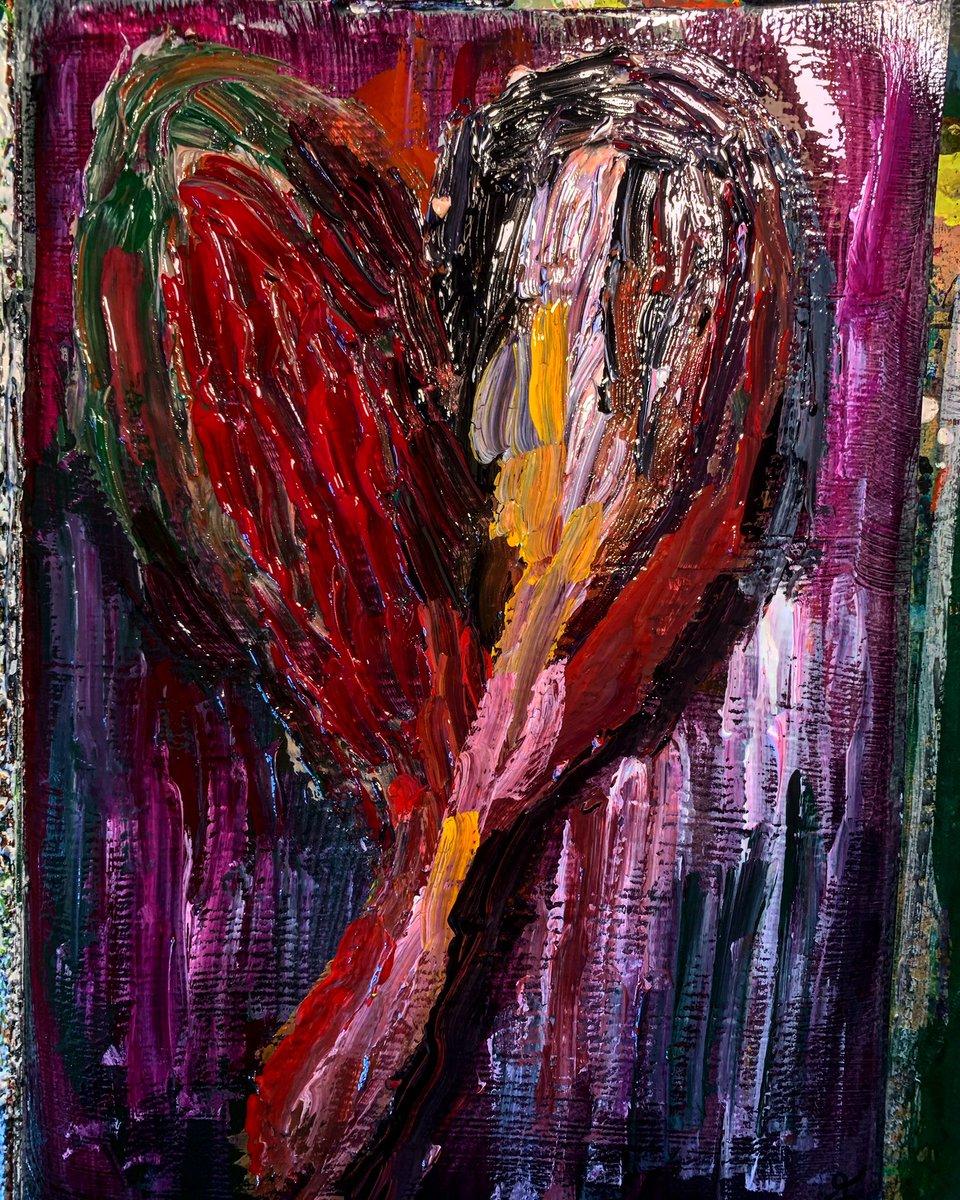 My Bloody Valentine   #art #artwork #abstractart  #絵 #絵描きさんと繋がりたい #アクリル絵の具 #plants #painting #アート #クレヨン #イラストpic.twitter.com/f19A7b57s5