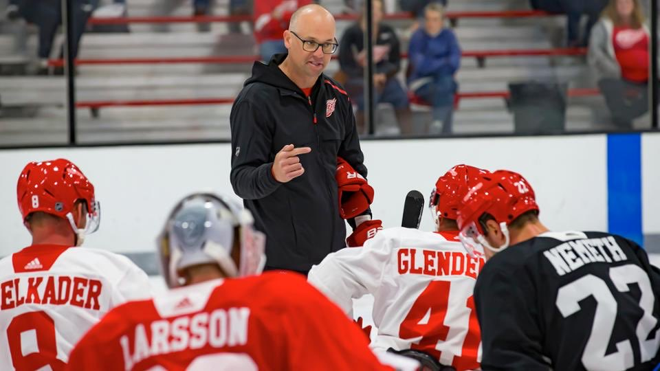 #RedWings face uncertain offseason; Blashill, players hope for on-ice opportunity as a team: https://t.co/dx8VdvY9AI https://t.co/KaWkQEyPbN