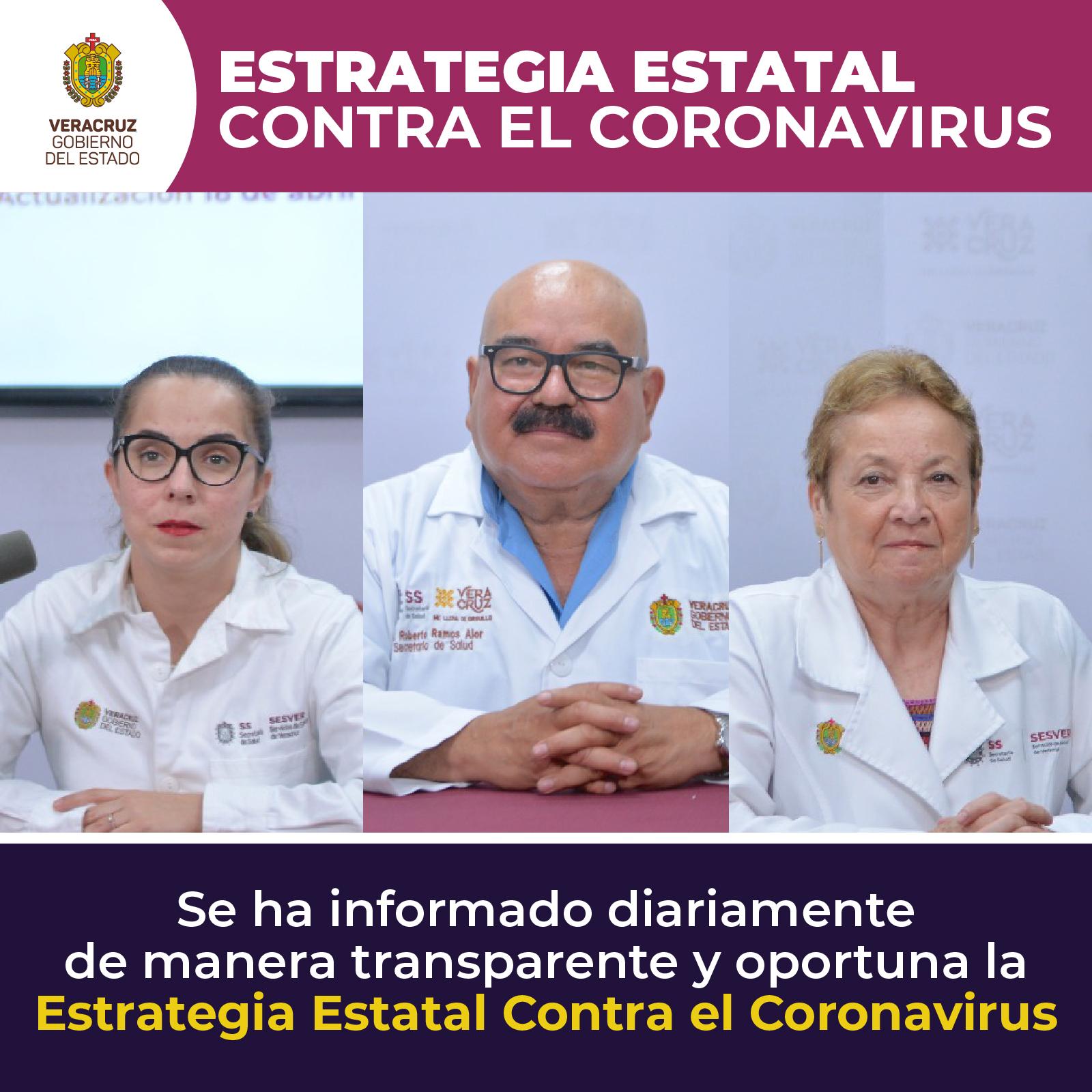 500 muertos en Veracruz por coronavirus hasta el momento