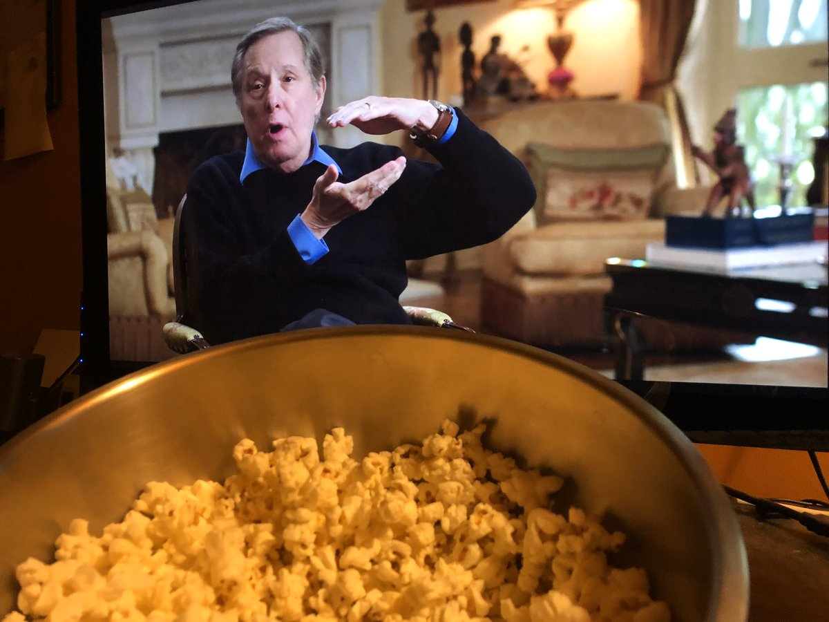 I have popcorn and I have @hotdocs. Checking out the legendary @WilliamFriedkin in Leap of Faith #exorcist