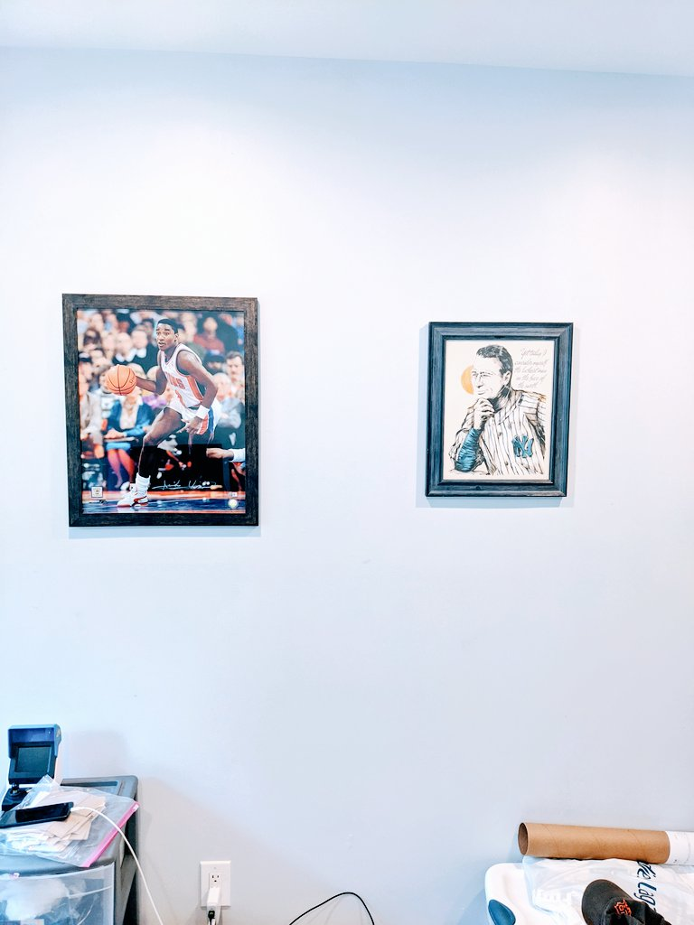 Y'all complained so I finally put some stuff up in the office.