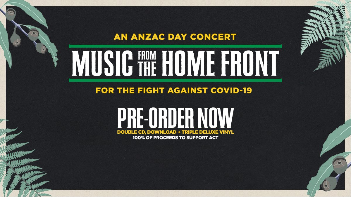 Pre-order your copy of 'Music From The Home Front' now: https://t.co/ysDCzHV3E9 https://t.co/2zHsOXbM2R