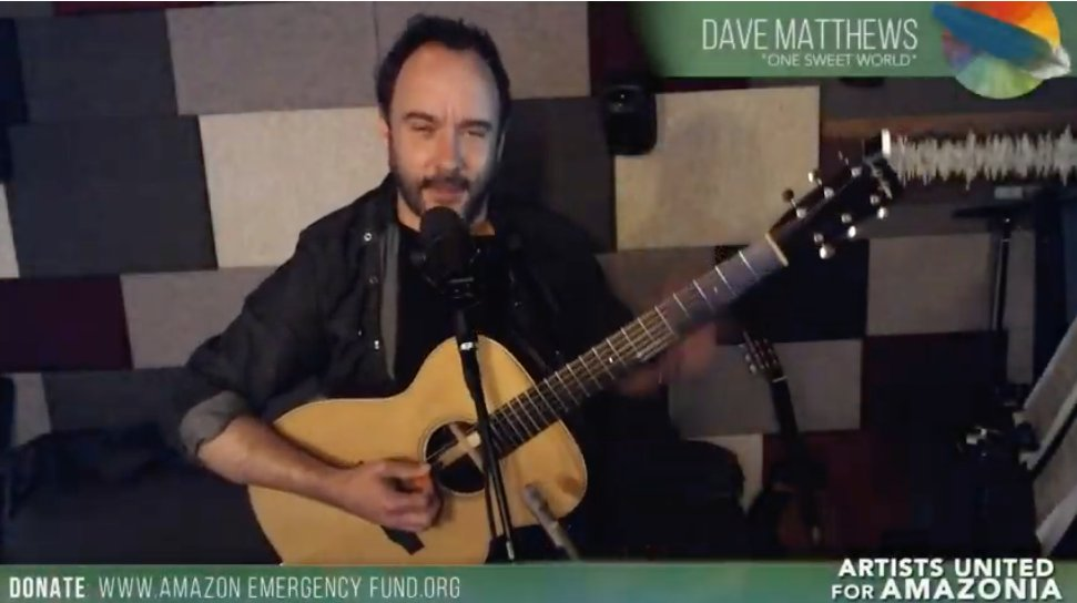@amazonwatch's photo on Dave Matthews