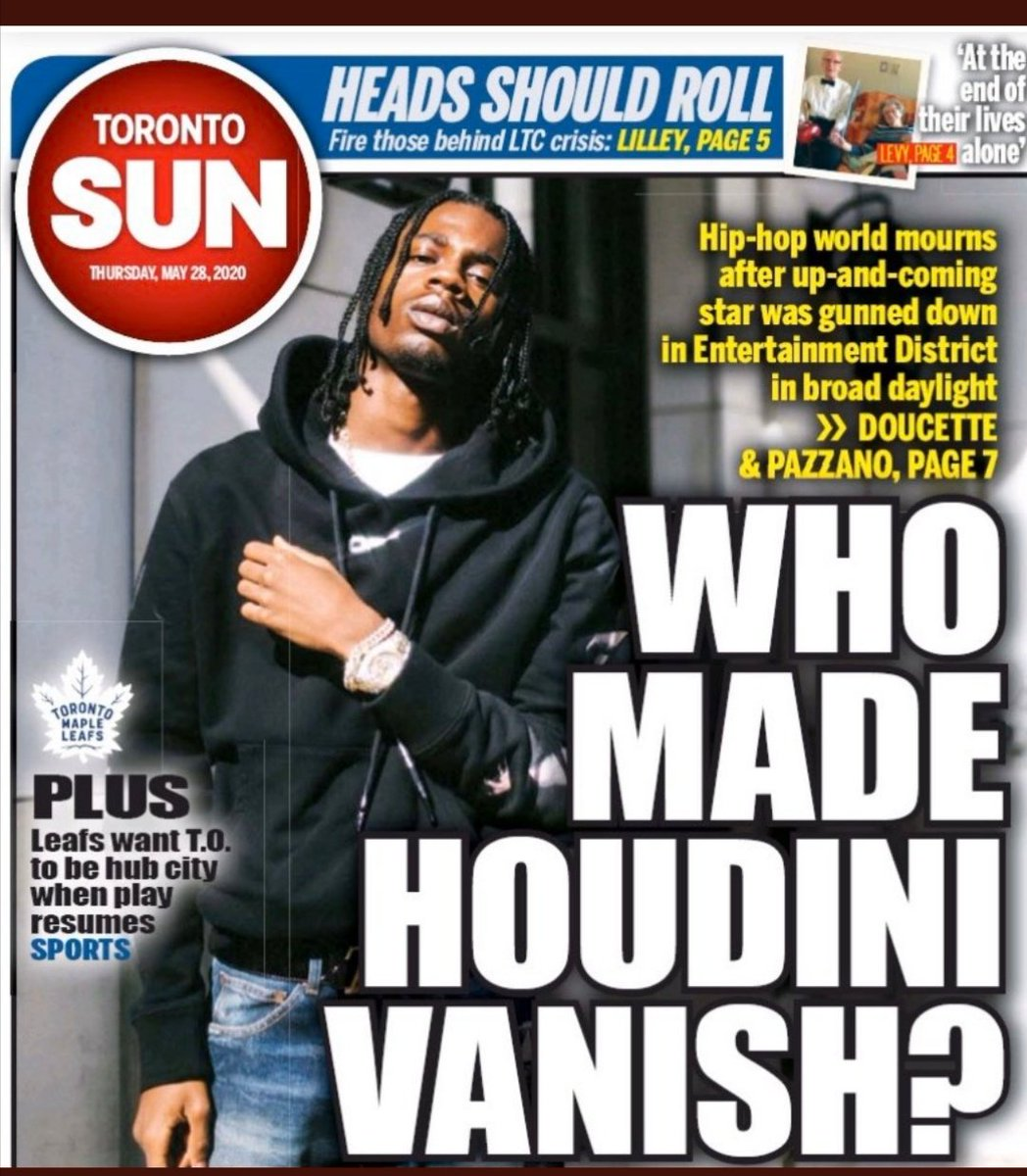 Often we as Canadian tend to point fingers at our neighbours to the South. Then this smacks us in the face today - how does that headline EVER reach print ? How would anyone EVER think that is tasteful and/or acceptable? We need to look in the mirror here  🇨🇦 @keeganj 🙏 https://t.co/pscgOQRWce https://t.co/5i0HDhABSd