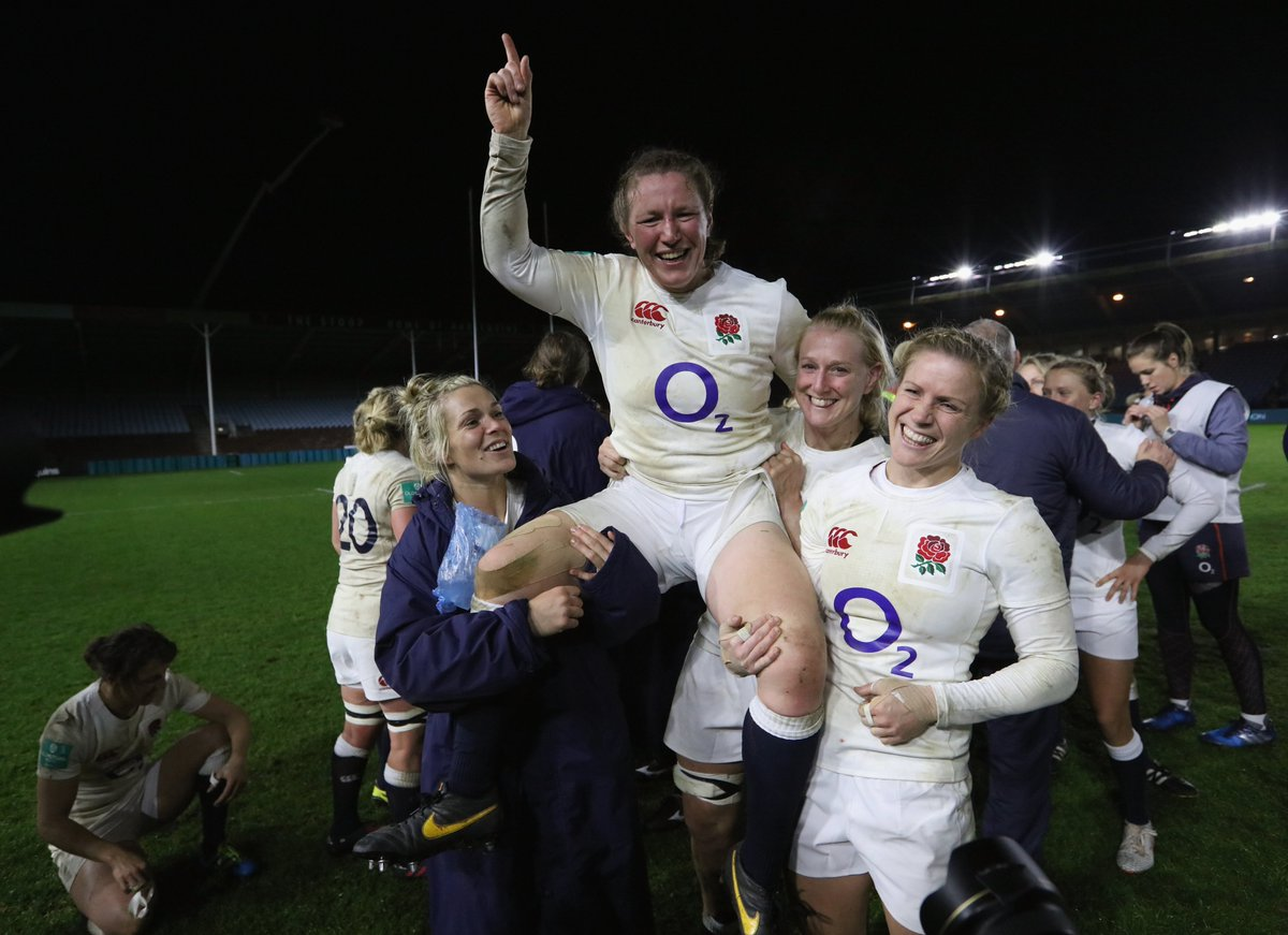 test Twitter Media - 1️⃣3️⃣7️⃣ caps 1️⃣5️⃣ years of international rugby 🏆 Rugby World Cup winner  🌹 The most capped England international of all time  Happy birthday to #RedRoses legend @RockyClark_1 MBE 🎁🎂 https://t.co/j2ueNB0Aqh
