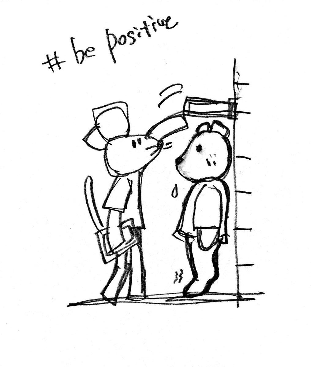 Kumazo is having a medical checkup today.  きょう、くまぞは健康診断を受けています。  ちゅーじろに身長を測ってもらったけど、 くまぞ、背伸びしないのっ。  みみより上ではかるのが、 くまぞルールなんだって。 そっか、そこ大事ね😊  #doodle #stayhome #illustration  #健康診断 https://t.co/XywjgiyYxX