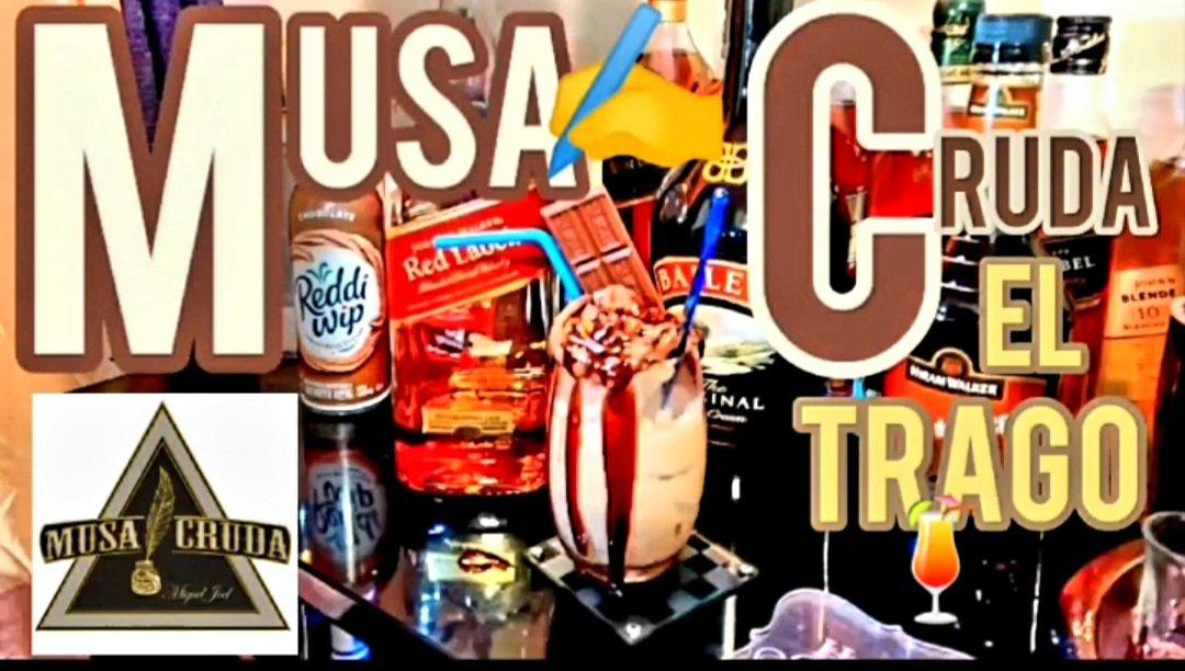"""El Super Delicioso Cocktail🍹""""Musa Cruda""""✍Disponible en ✅Nuestro Canal de ▶️YouTube/https://t.co/8Ci4x4s38j @ElRincondeShei  #elrds #tragosfaciles  #QuedateenCasa #stayhome https://t.co/yKdqJ6E1iJ"""