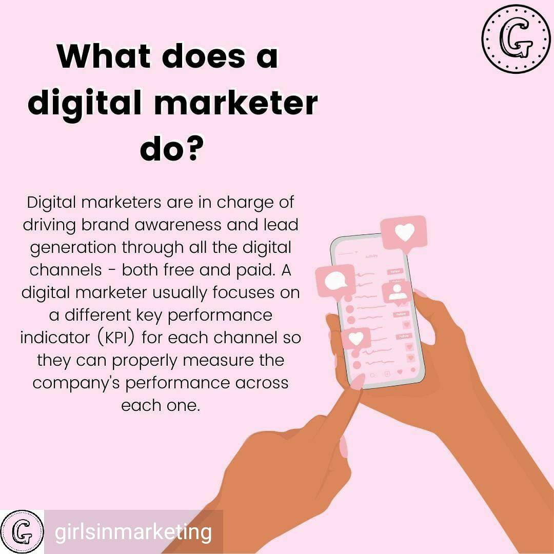 WTH IS A DIGITAL MARKETER?   ⁣Reposted from @girlsinmarketing⁣ (IG) ⁣#marketing #digitalmarketing #contentmarketing #socialmediamarketing #seo #ppc #searchenginemarketing#emailmarketing #socialmedia #websites #digitalmarketer #digitalmarketingmanager <br>http://pic.twitter.com/4hsxcYusZp
