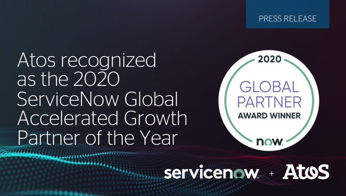 We're delighted to be honored by @ServiceNow as its Global Accelerated Growth Partner of...
