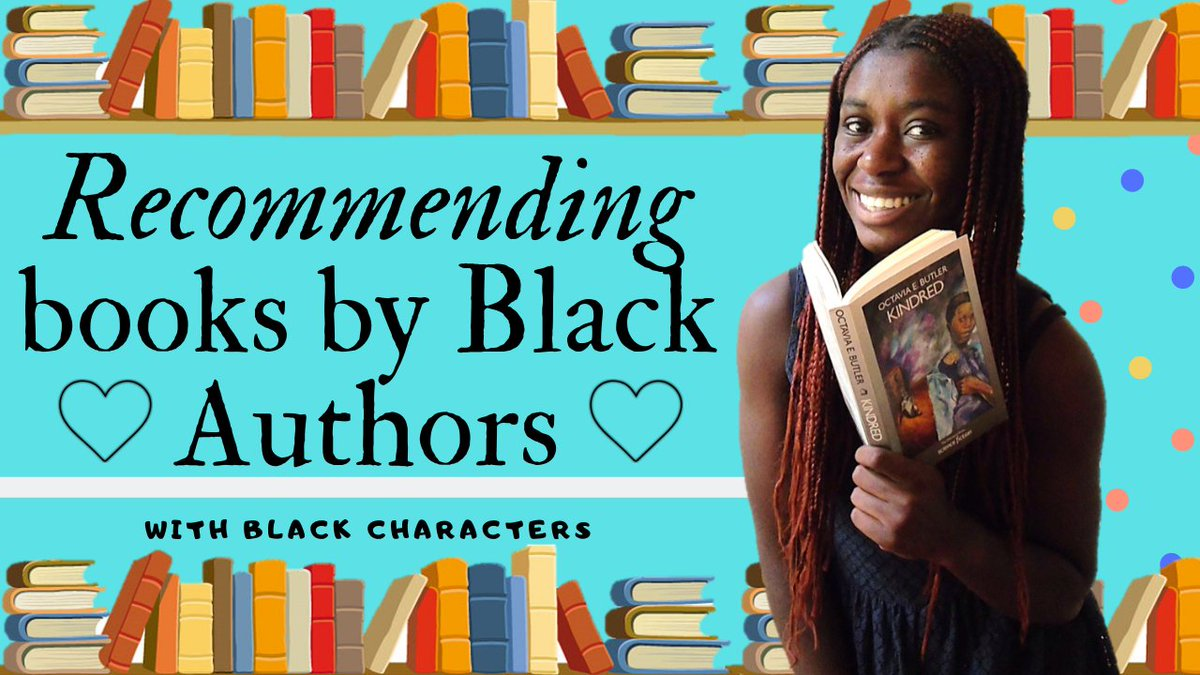 If you want to learn more about the black experience or educate yourself more, I have a video recommending 20 books by black authors with black main characters.  Plenty of genres and formats included.  https://www.youtube.com/watch?v=ix23QhClB6s … #booktube #black pic.twitter.com/RduOJQeOrO