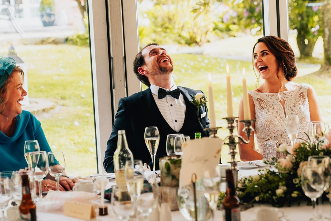 Laughter is something was plentiful at Labhaoise & Charlie's Wedding in Bellaghy.. cant believe it was a year ago.. where does time go, seriously! - - - - #niwedding #lookslikefilm #firstandlasts #adventurebride #brideandgroom #untamedwildandfree #junebugweddings #dirtybootsandmepic.twitter.com/4yymQE8dKF
