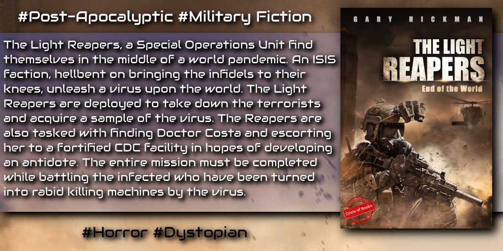 . #dystopian #horror #military #kindle @LightReapers https://t.co/NJb7522Wyw #iartg #asmsg #postapocalyptic  https://t.co/3aYiZpQfVs
