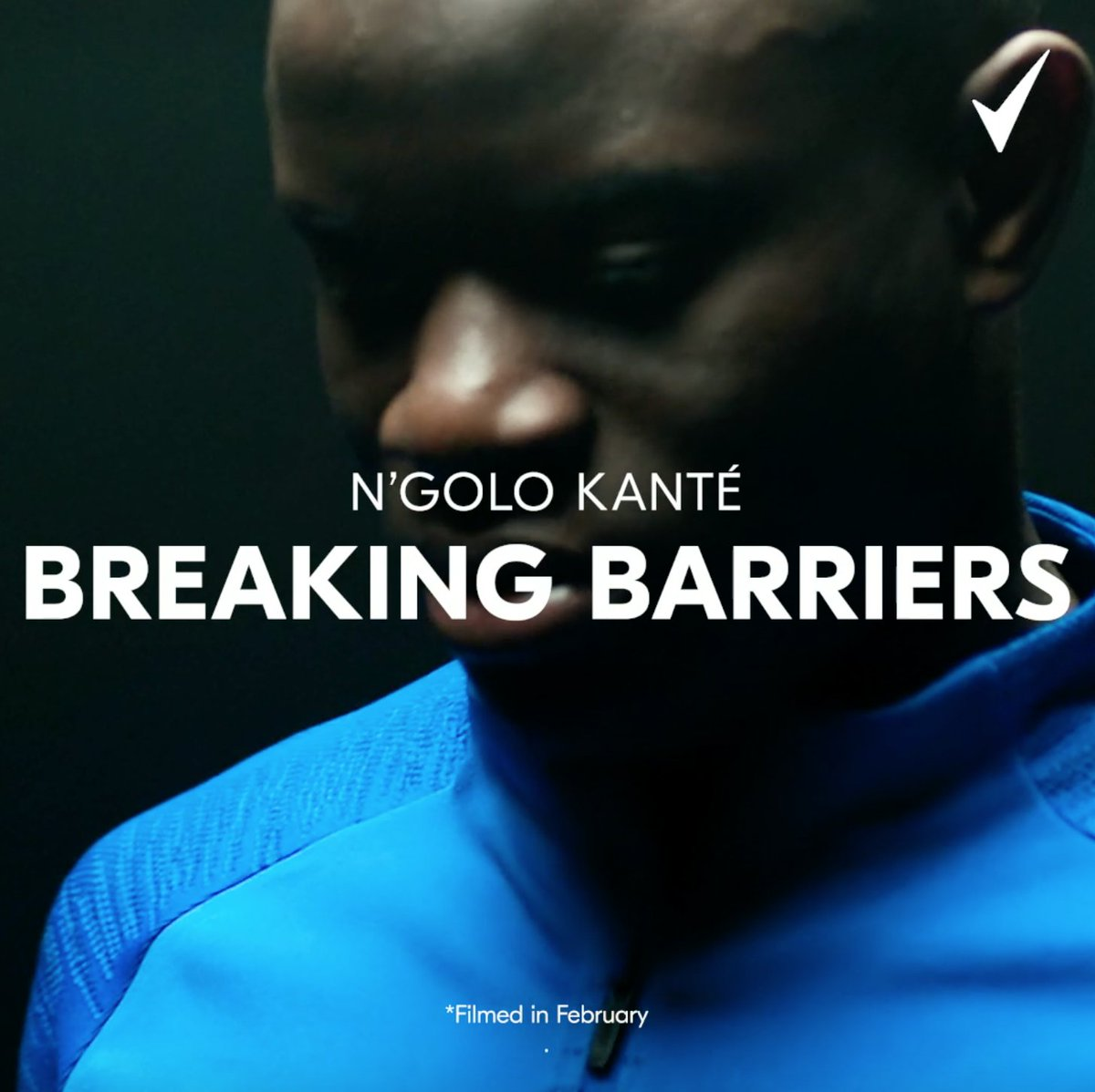 If its something you love, you should give the best of yourself. And if its not enough, find ways of being better. ✊ #BreakingBarriers, with @nglkante #Rexona