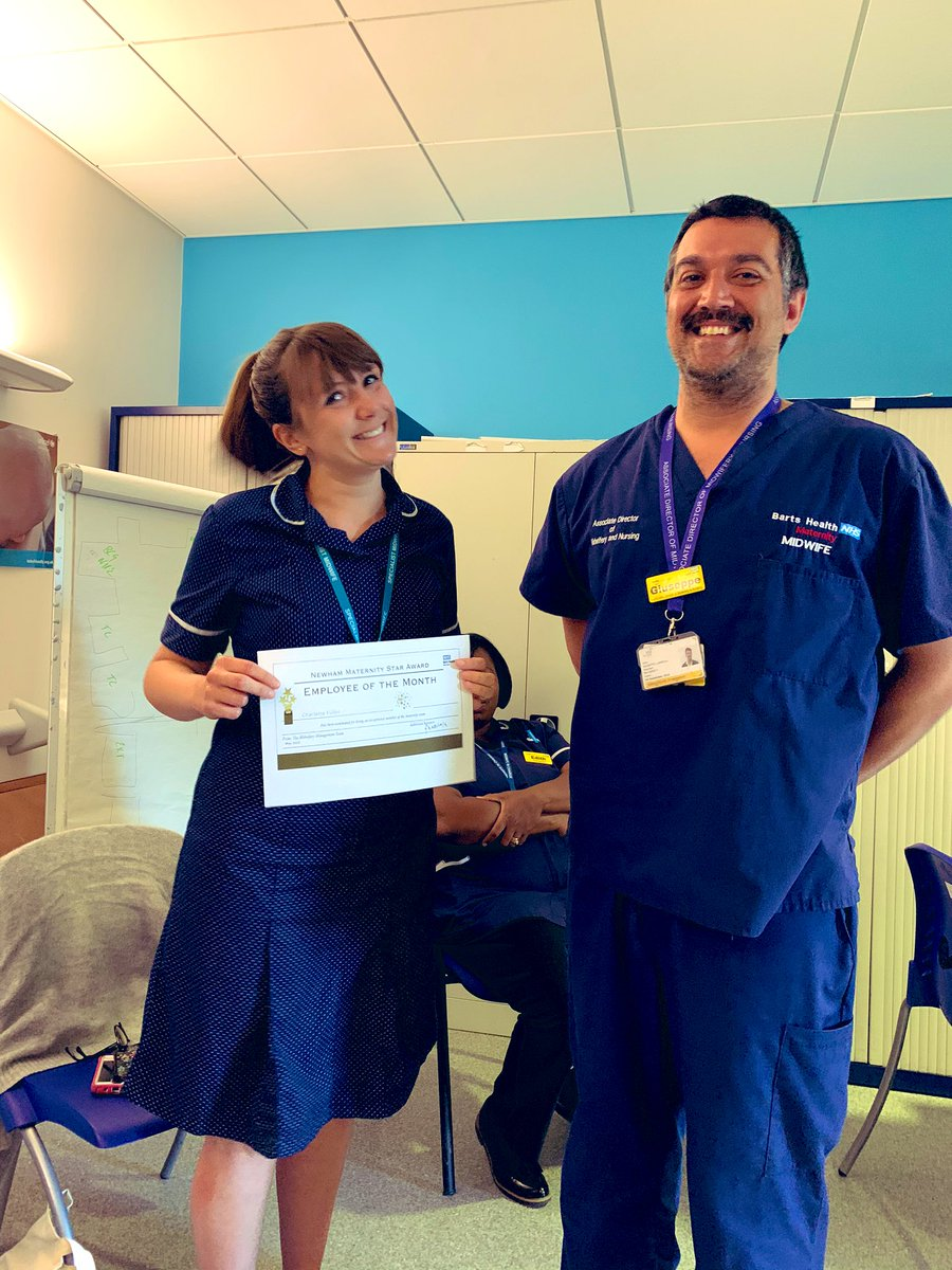 Congratulations to Charlotte Fuller, Specialist Midwife who is our maternity star of the month. Well done 🌟 https://t.co/ylgYwvxs1A