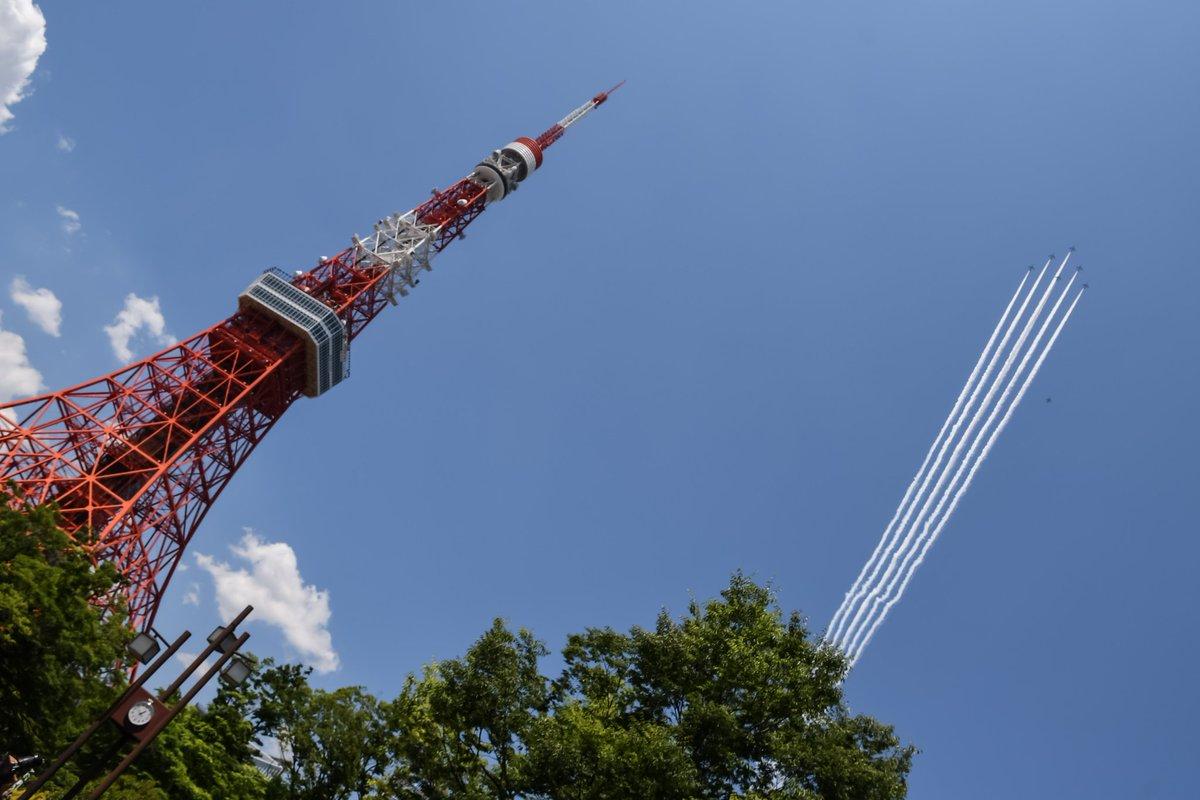 JASDF - Blue Impulse米・伊に続き、日本でも