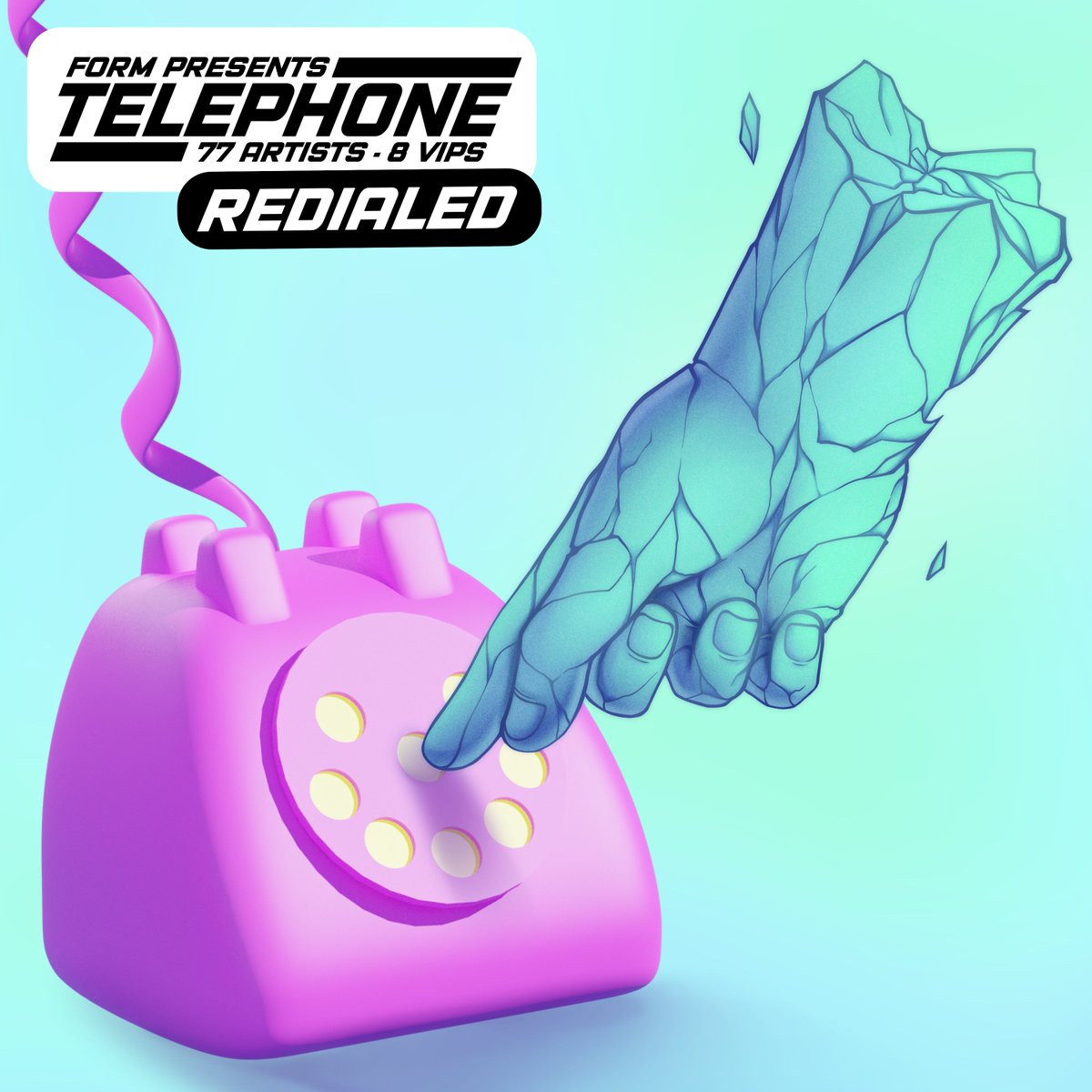 TELEPHONE: REDIALED IS OUT NOW BUY / STREAM: redialed.artbyform.com WITH ALL PROCEEDS GOING TO @TrevorProject