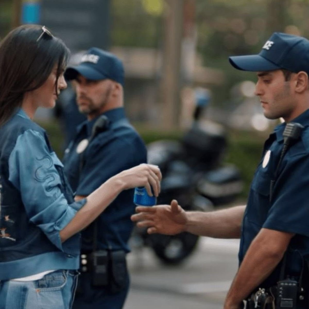 the only way to stop these riots is to send in Kendall Jenner with a shit load of Pepsi's