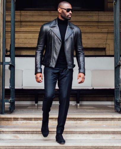 Suéter Cuello Alto. 🚨Síguenos en🚨 👉    👈  👉  👈  📷Photo 👉 Pinterest #Sueter #Sweaters #SueterCuelloAlto #Confecciones #RopaJuvenil #Beautiful #Ropa #Moda #Estilo #Style #Tendencia #Cool #Look #Hombres #Caballeros #Masculino