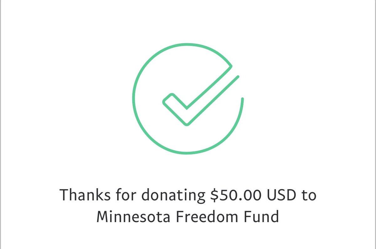 Matched! minnesotafreedomfund.org/donate twitter.com/ChelseaHeckaBa…