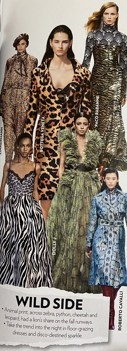 Symbol of wealth and status. Animal prints have long been a popular style for many years. Who knows? It could become a classic in the fashion world! #animalprints  #fashionblog pic.twitter.com/iKpHPcagfy