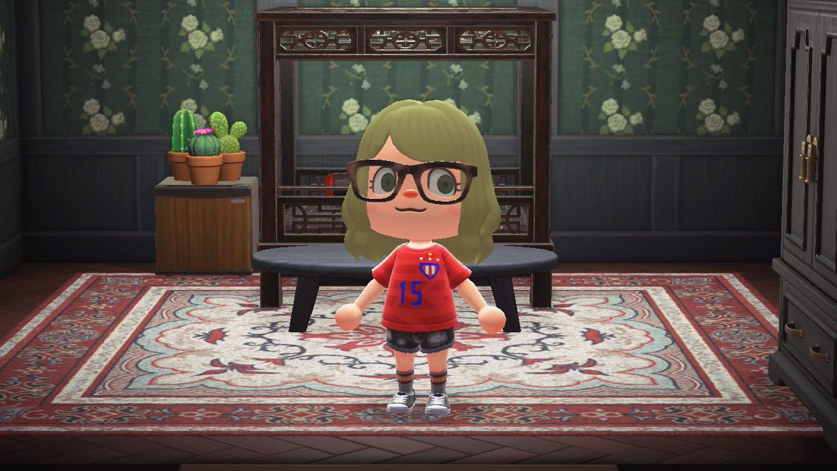 Tomorrow is my last day of women's national team kits.   So naturally, my Animal Crossing sneak peak. #USWNT pic.twitter.com/BdJCe6Eeg3