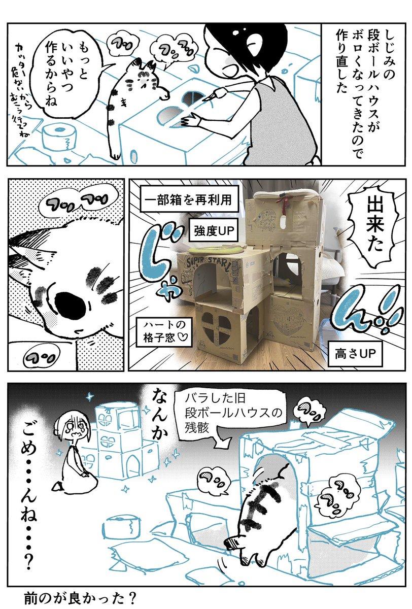 3本足のしじみちゃん84