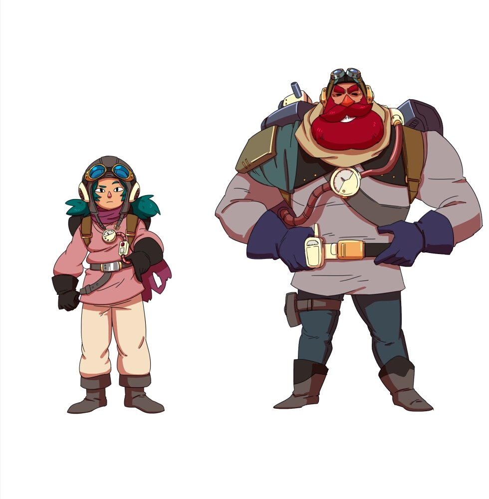 Some of the characters bringing the world of #skyoceans to life. #gamedev #indiedev #strategy #rpgpic.twitter.com/CUwOVLFSpw