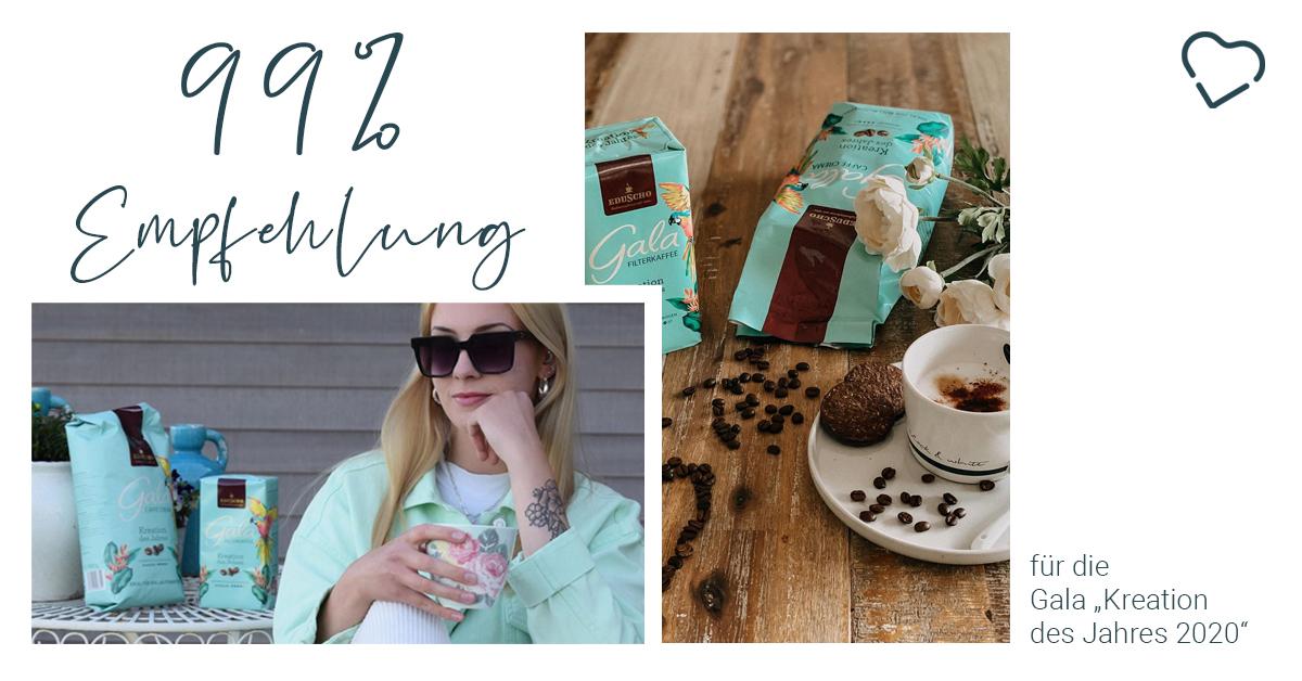 """[Anzeige] It's always coffee time ☕️99% unserer Kaffee-Liebhaber empfehlen die Gala """"Kreation des Jahres 2020"""" 😍 Danke an die Instagramer @saskialr und @janis_lifestyle für ihre Beiträge 💙 Zum Ergebnis 👉https://t.co/nO4zJ3wZns #galavoneduscho #kreationdesjahres #galakaffee https://t.co/FtmRecKHqR"""