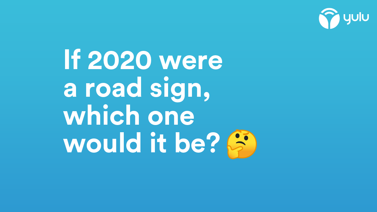 """""""CAUTION: Bumps Ahead"""" is the one we're going for. What about you? #Yulu #roadsign #caution #road #signs #RideSolo #SafeCommute #RideSoloWithYulu #SafetyFirst #InThisTogether #StaySafe #SoloCommute #sustainability #micromobility #environment #letusknowpic.twitter.com/26BBhZHwcx"""