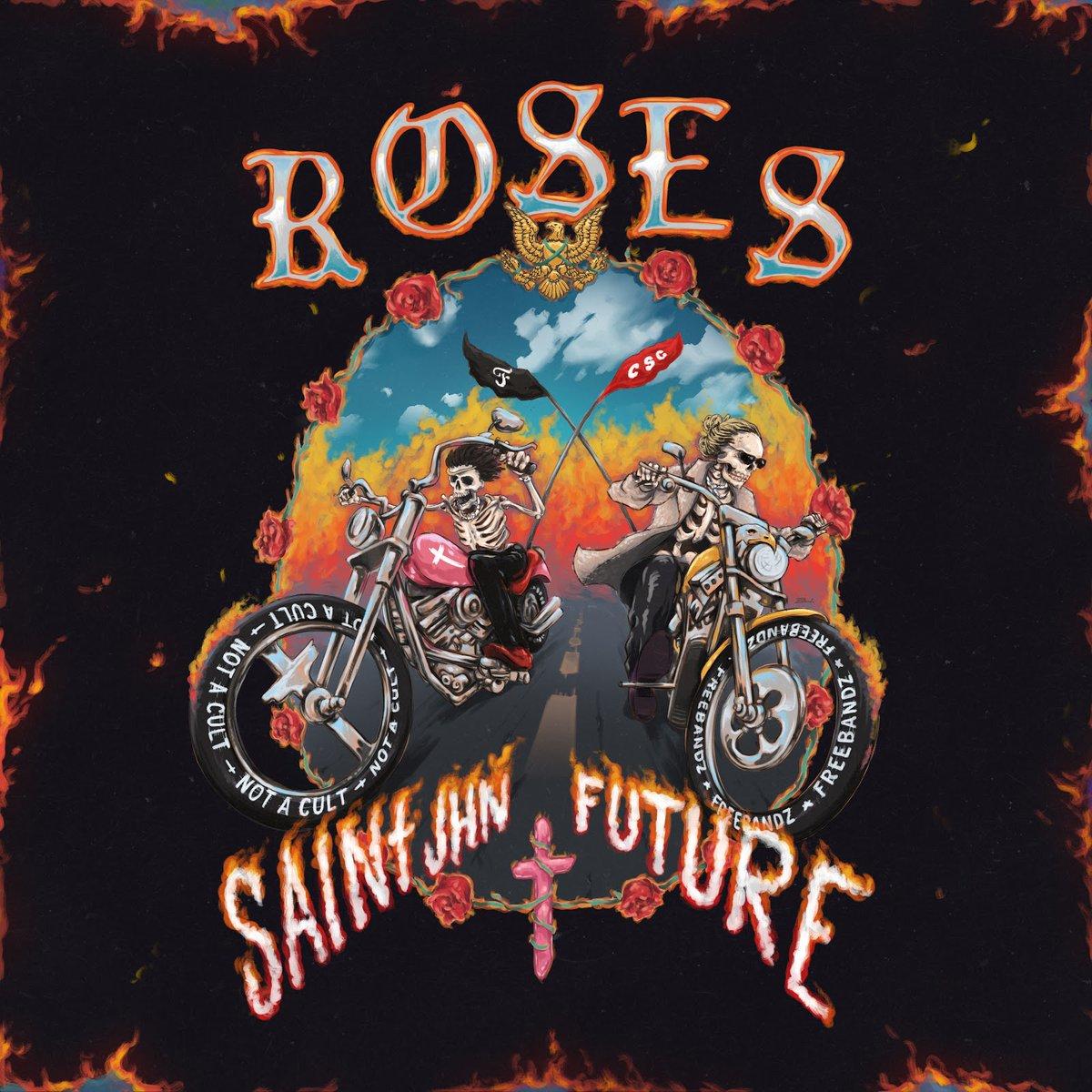 .@1future joins @SAINtJHN for remix of international smash #ROSES bit.ly/3eyQRZN
