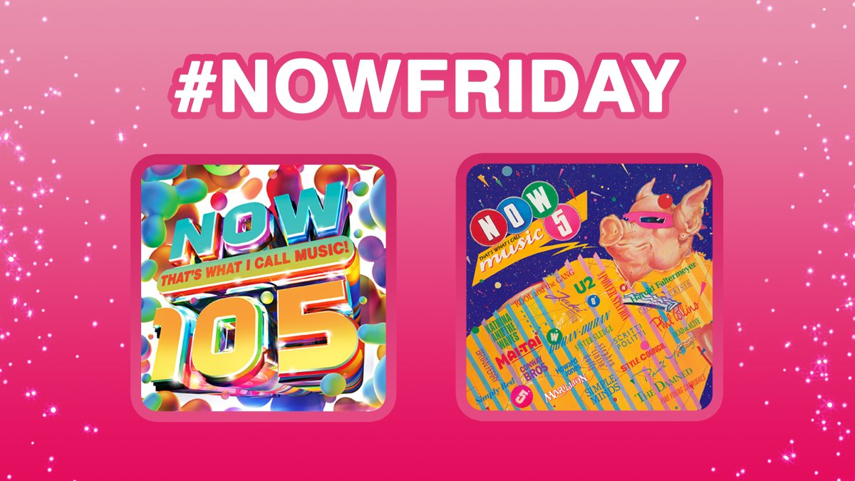 Its #NOWFriday! For your chance to win these 2 albums simply RT & Follow! #win #competition 🤑🎁 T&Cs: nowmusic.com/twitter-terms