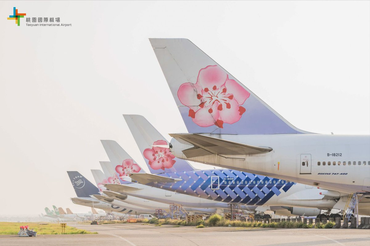 Where are you longing the most when we can all meet again?  #taoyuanairport #airplanes pic.twitter.com/q9eIyCBBcs