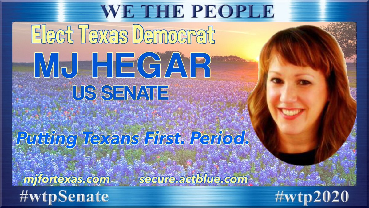 """...minority owned businesses were disproportionately left out of emergency PPP funding, and struggle to survive. John Cornyn thinks theres ""no urgency to help them. We need a senator who gives a damn about the small businesses..."" MJ Hegar Vote @mjhegar Texas! #wtpSenate"