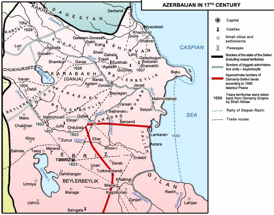 102 years ago on this day #Iravan khanate-the historical land of #Azerbaijan was stolen by Armenian separatists. The city of Iravan has been founded by prominent |i ruler Shah Ismayil Khatai.  This map is a fact that #Armenia has been established in the historical lands of .pic.twitter.com/8eTKpzcjri
