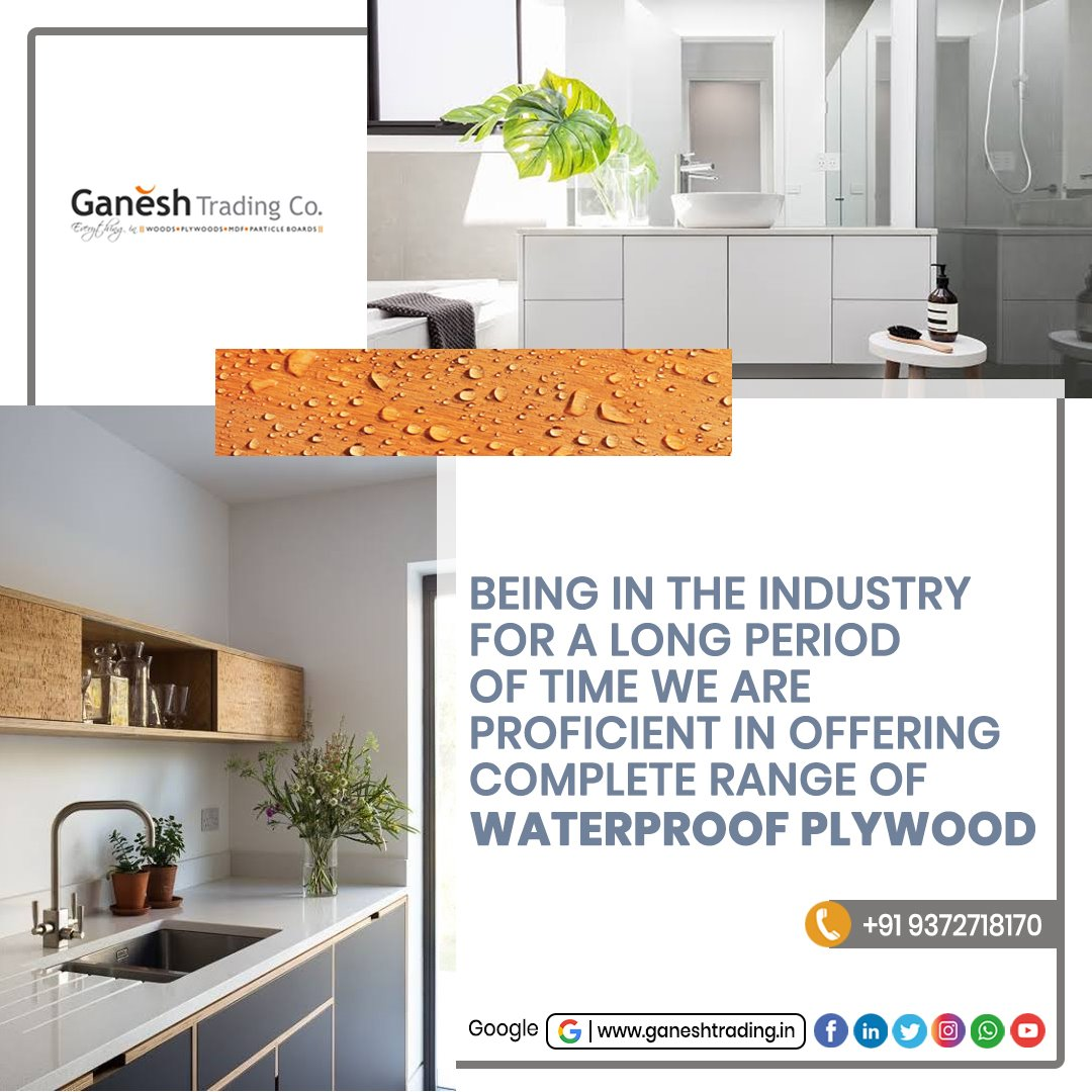 Being in the industry for a long period of time, we are proficient in offering a complete range of Waterproof Plywood. Visit Us @  #woodenmaterial #plywood #woodworking #decorative items #design #furniture #doorsframes #interiordesign #interior #woodwork