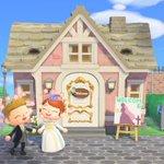 素敵!あつ森の教会で、結婚式があげられるんだそうです!