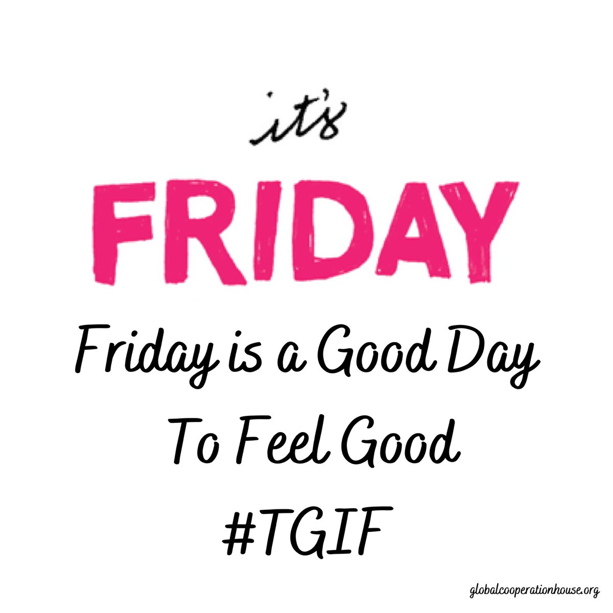 #Friday is a Good Day to feel GOOD, #TGIF! #FeelGoodFriday#attitude #selfcare#RajaYoga #meditation#spirituality #GCH  #StayHomehttp://globalcooperationhouse.orgpic.twitter.com/kUNT8i0EcT