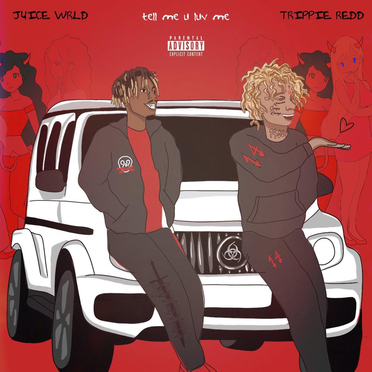 Tell me u luv me out now ft @trippieredd #LLJW youtube.com/watch?v=ddoFu4… tellmeyouluvme.com